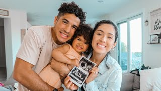 MEETING OUR BABY FOR THE FIRST TIME!!!