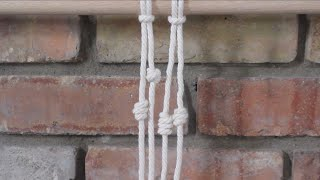 How To Tie The Barrel Knot (Easy One Strand Knot)