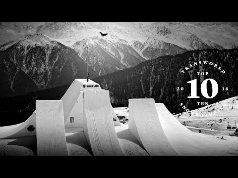 TransWorld SNOWboarding's Top 10 Most Progressive Tricks of 2016