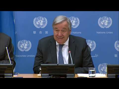 Press Conference by UN Chief to mark the opening of #UNGA74