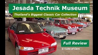 Jesada Technik Museum  |  Review Of Thailand's Biggest Classic Car Collection