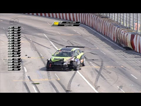 WTCR 2018. Race 3 Macau Grand Prix. Zsolt Szabó Hard Crash