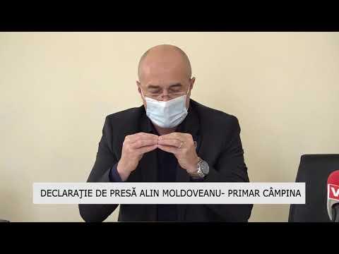 Declaraţie de presă Alin Moldoveanu Primar Câmpina