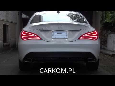 Mercedes CLA Dynamic turn signals by CARKOM.PL