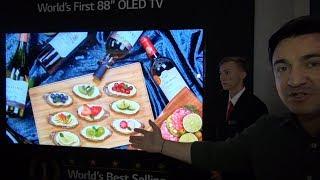 Primul televizor OLED 8K de 88 de inci!