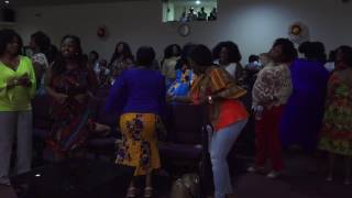 GLORY EXPLOSION NIGHT 2016, CHURCH OF PENTECOST COLUMBUS PRESENTS MINISTER NII ADDO (PART 2)