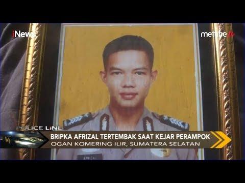 Kanitreskrim Bripka Afrizal Tewas Ditembak saat Kejar Perampok - Police Line 09/06