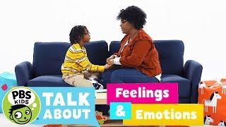 PBS KIDS Talk About | FEELINGS & EMOTIONS! | PBS KIDS