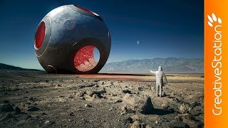 Arrival - 3D Speed art (#Cinema4D, #Photoshop)   CreativeStation