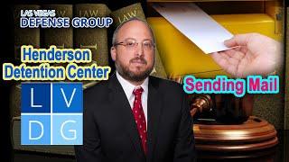 Henderson Detention Center: Sending mail