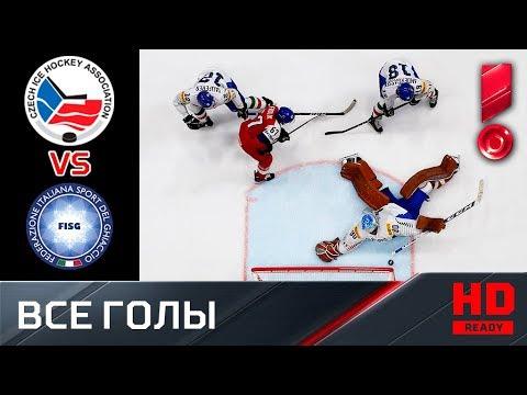 17.05.2019 Чехия - Италия - 8:0. Все голы. ЧМ-2019