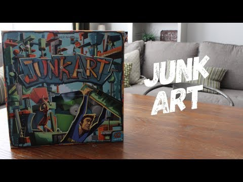 One Board Family Review: Junk Art