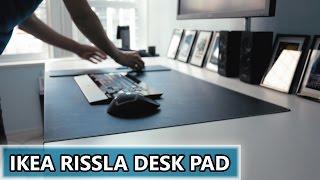 A Gigantic IKEA Rissla Mouse Pad - The Beginning Of Desk Setup #2