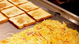 Mozzarella Cheese Toast - Korean Street Food