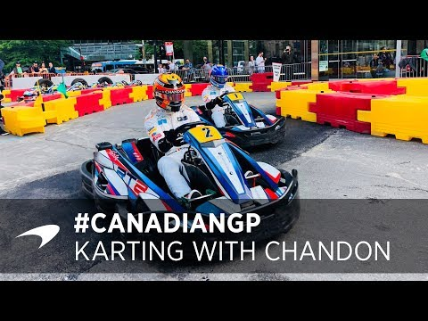 Fernando and Stoffel Go Karting with Chandon