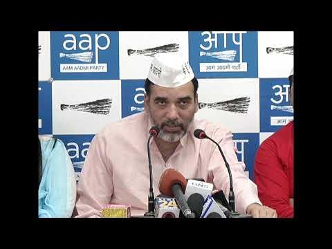 दिल्ली प्रदेश संयोजक गोपाल राय ने झुग्गी झोपडी , रेहड़ी पटरी , किरायदार प्रकोष्ठ की घोषणा की