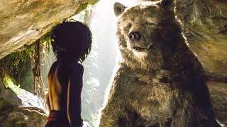 Mowgli Meets Baloo Scene - THE JUNGLE BOOK (2016) Movie Clip
