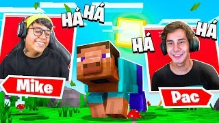 Não pode rir com os melhores MEMES de Minecraft! 😯