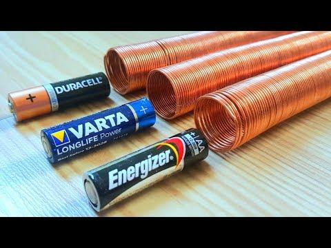 Interesting Way Of Testing Batteries