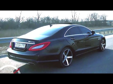 "Mercedes Benz CLS AMG on 20"" Vossen Wheels / Rims \ Tuning Time #2"
