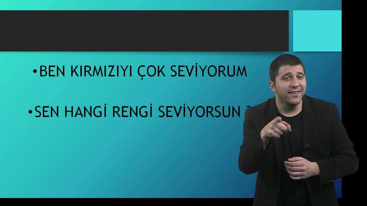 Türk İşaret Dili İlkokul Videoları-2