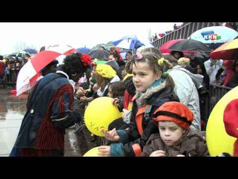 Sinterklaas komt aan in Cuijk 2010