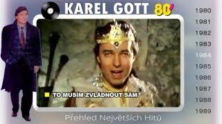 KAREL GOTT ★ Přehled největších hitů 3/5 ★ (80s)