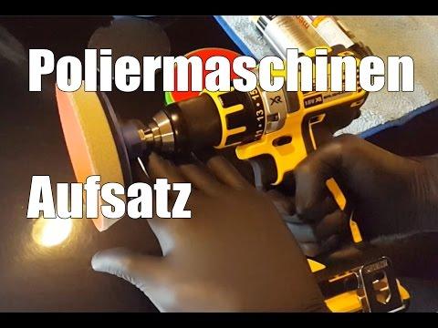 83metoo Poliermaschinen Aufsatz für Bohrmaschine von RotWeiss
