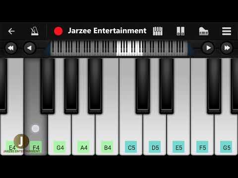 Paniyon Sa (Satyameva Jayate), Atif Aslam - Mobile Perfect Piano Tutorial | Jarzee Entertainment