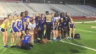 Conway Sr. Girls Conference Champs 7A