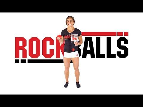 RockBalls - Upper Back (T-Spine) (Standing)