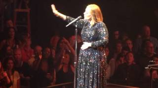 "Adele Performing ""Sweetest Devotion"" Live in HD at Staples Center on 12 August"