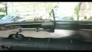 KIA RIO Dashcam Einbau AUKEY Dual 1080P