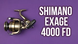 Shimano exage fa 4000