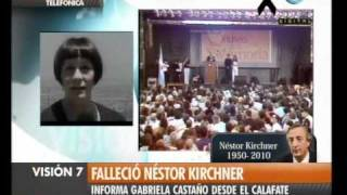 Visión Siete Falleció Néstor Kirchner 30
