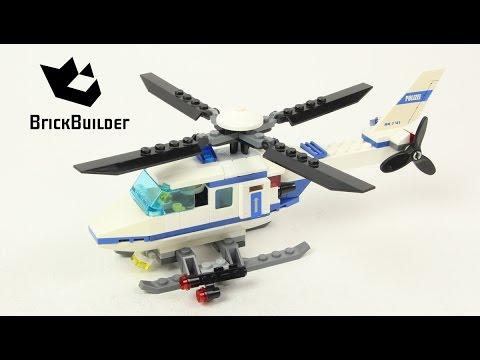 Vidéo LEGO City 7741 : L'hélicoptère de police