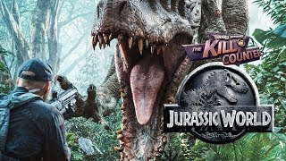 JURASSIC WORLD - The Kill Counter (2015) Chris Pratt, Bryce Dallas Howard dinosaur adventure movie - dooclip.me