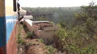 preview picture of video 'MYANMAR - GOK TEIK VIADUKT , mit dem Zug über das Gokteik Viadukt'
