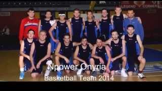 preview picture of video 'Npower Onyria Basketball Team 2014 -Urgnano ( bergamo) Italy'