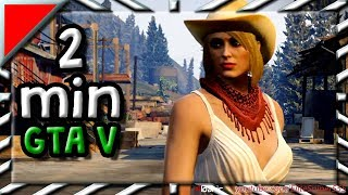 Cowgirl - 2min GTA V - My Best Moments #39