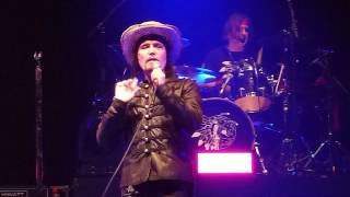 "Adam Ant ""Apollo 9"" Leeds Arena 27 May 2017"
