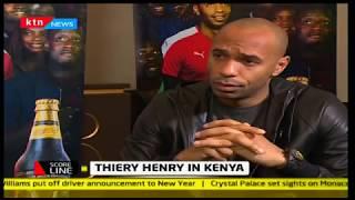 Scoreline:Thierry Henry in Kenya