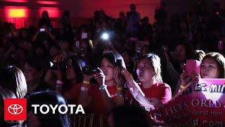 Ли Мин Хо, Lee Min Ho Meet & Greet in Los Angeles -- Event Highlights   Toyota