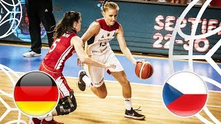Germany v Czech Republic - Quarter-Finals - Full Game - FIBA U18 Women's European Championship 2018
