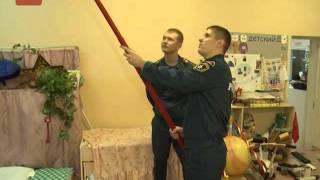 Новгородские спасатели сегодня провели один из детских садов Великого Новгорода на готовность к чрезвычайной ситуации