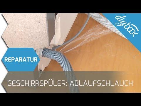 Ablaufschlauch einer Spülmaschine wechseln - Anhand eines Zanussi Geschirrspülers
