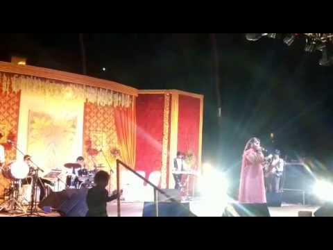 RJ/Anchor Shiney Hosted With Pop Singer Daler Mehndi at LB Stadium Hyderabad