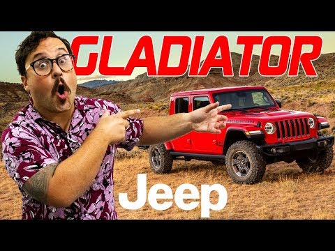 2020 Jeep Gladiator | Review & Highlights | Jeep Truck | Kendall, FL