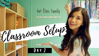 CLASSROOM SETUP DAY 2 | 2020-2021 | UPDATE On Returning To School