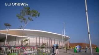 Воздушная телекамера упала на людей в Рио